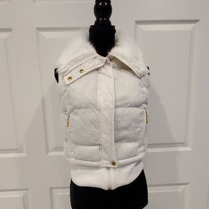 XOXO white vest